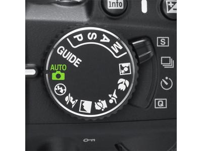 Режимы cъемки фотоаппарата: P, A, S, M