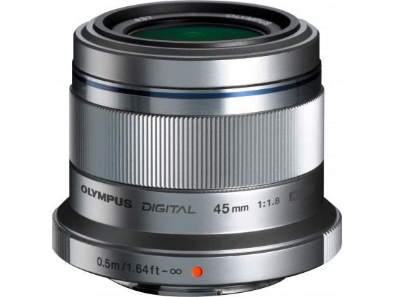 Объектив OLYMPUS M.ZUIKO DIGITAL 45mm f/1.8 Black