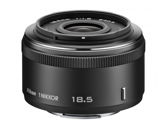 Объектив Nikon 1 Nikkor 18.5mm f/1.8 Black