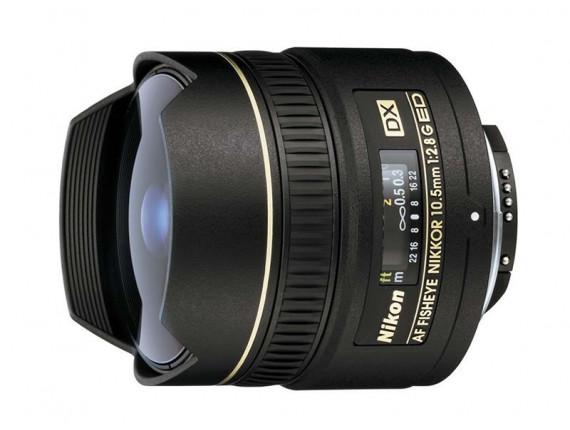 Объектив Nikon 10.5mm f/2.8G IF-ED AF DX Fisheye