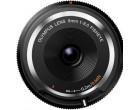 Объектив OLYMPUS Fish-Eye Body Cap 9mm f/8.0 Black