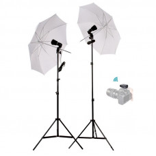 Набор студийного света AccPro Dison FM-90-UB110 Umbrella Kit