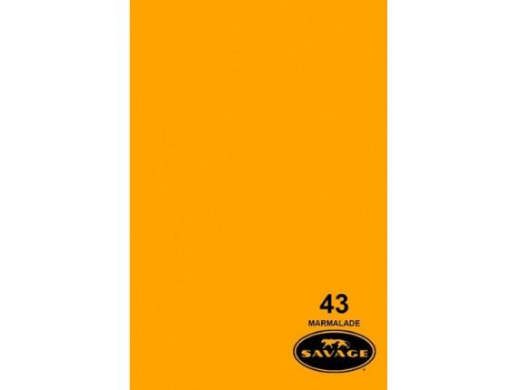 Фон бумажный Savage Widetone Marmalade 2.72m x 11m