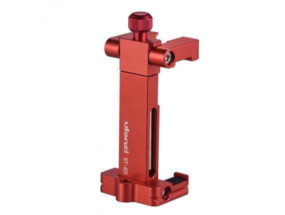 Держатель для смартфона Ulanzi ST-03 Metal red