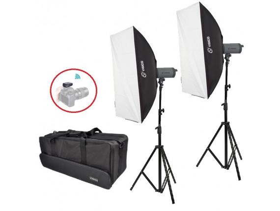 Набор постоянного света Visico LED-200T Softbox Kit