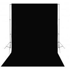 Фон бумажный Visico P-44 Black 2,75 x 10,0 м