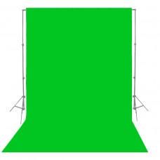 Фон бумажный Visico P-54 Chroma Green 2,75 x 10,0 м