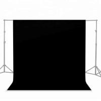 Фон студийный тканевый Visico PBM-1827 black 1,8х2,7м