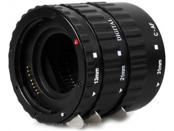 Макрокольца автофокусные Visico TTL Macro Extension Tube for Canon