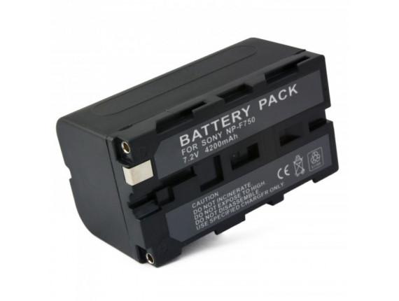 Аккумулятор Sony NP-F750 только для LED - ExtraDigital (BDL1391)