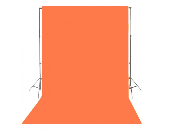 Фон бумажный Visico P-39 Orange 1,35 x 10,0 м