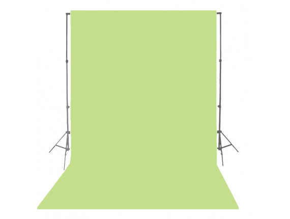 Фон бумажный Visico P-63 Apple Green 2,75 x 10,0 м