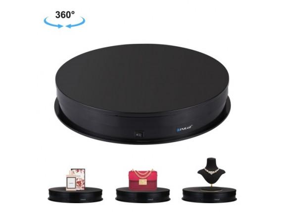 Поворотный стол для предметной съёмки Puluz PU3049B black (30см)