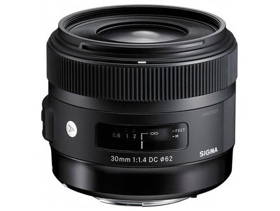 Объектив SIGMA AF 30mm f/1.4 EX DC HSM Art Nikon