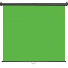 Фон роллет на стену Visico RB-1820 Chroma Key Screen зелёный (1,8x2м)