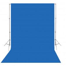 Фон бумажный Visico P-11 Photo Blue 2,75 x 10,0 м