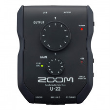Аудиоинтерфейс Zoom U-22