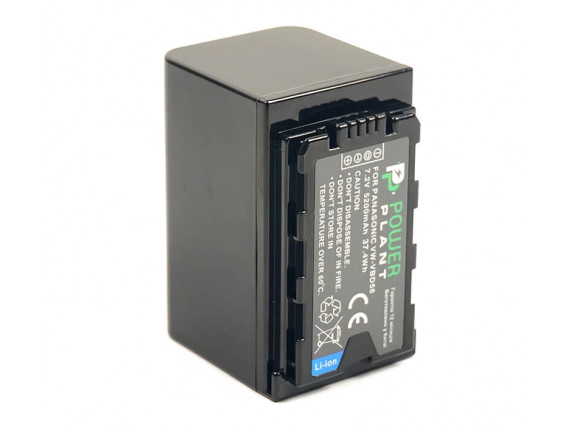 Аккумулятор Panasonic VW-VBD58 - PowerPlant (CB970087)