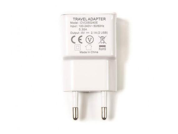 Сетевое зарядное устройство PowerPlant USB 2.1 (DV00DV5042)