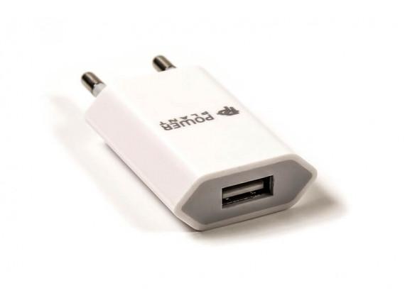 Сетевое зарядное устройство Powerplant Slim USB 1A (DV00DV5061)