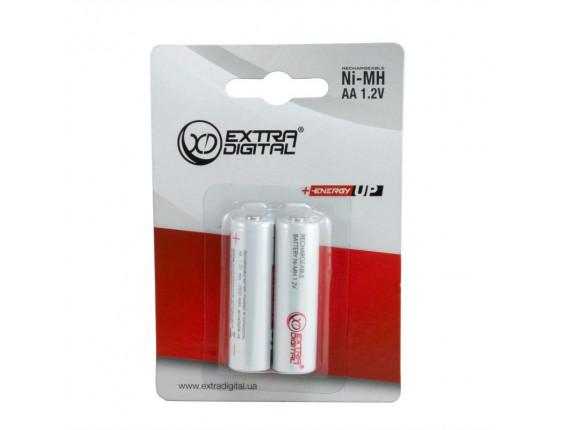 Аккумулятор ExtraDigital Energy UP AA 2500mAh, Ni-Mh, 2 шт (AAE1839)