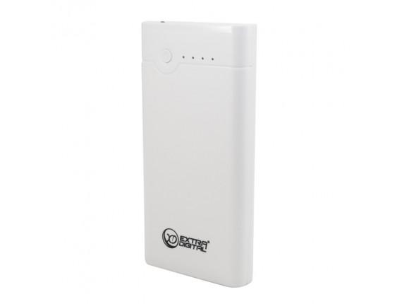 Внешний аккумулятор Extradigital YN-010 White (20000 mAh) (PBU3411)
