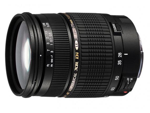 Объектив Tamron SP AF 28-75mm F/2,8 Di XR LD Asp. (IF) Macro для Nikon