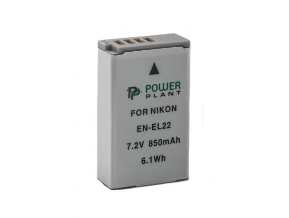 Аккумулятор Nikon EN-EL22 - PowerPlant (DV00DV1399)