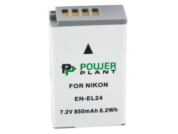 Аккумулятор Nikon EN-EL24 - PowerPlant (DV00DV1407)