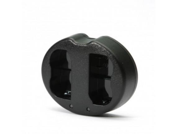 Зарядное устройство PowerPlant Dual для Nikon EN-EL20 (DV00DV3326)