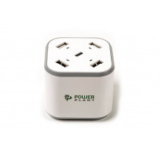 Зарядное устройство PowerPlant 4xUSB + Type-C (SC230112)