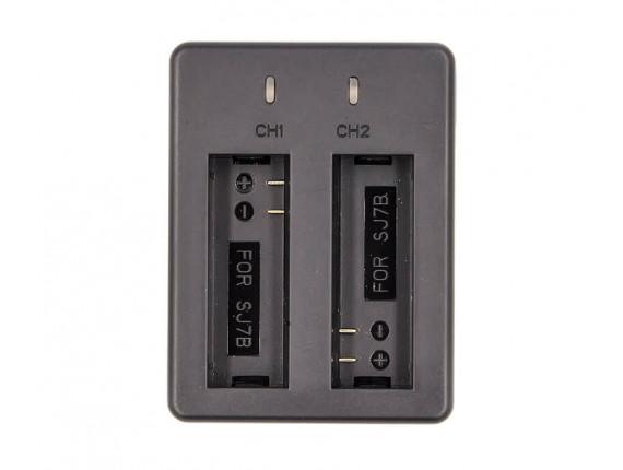 Зарядное устройство PowerPlant Dual для SJCAM SJ7B (CH980147)