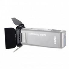 Шторки с сотами и фильтрами Godox BD-07 для AD200