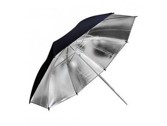 Фотозонт Godox UB-002 33 black/silver (84см)