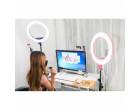 Кольцевой свет Godox LR160 Pink LED Ring Light