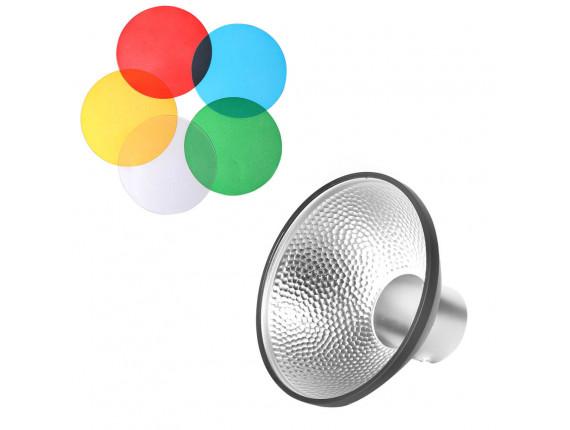 Рефлектор с фильтрами Godox AD-M (для AD200)