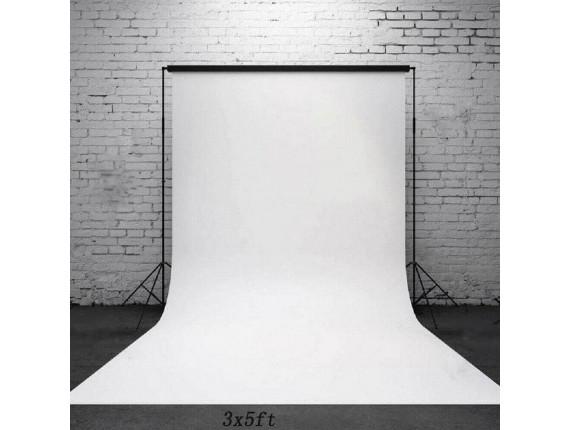 Фон виниловый Savage Infinity Vinyl Pure White 2.43m x 3.04m