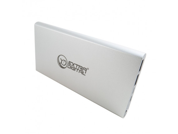 Внешний аккумулятор Extradigital YN-012 Silver (PBU3420)