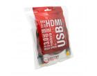 Кабель Extradigital HDMI to HDMI, 1.5m, v2.0 Hi-Speed (KBH1633)