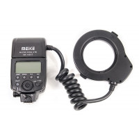 Кольцевая макровспышка Meike MK-14EXT для Nikon (RT960118)