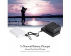 Зарядное устройство FB Dual для Canon LP-E6 (FB-DC-DU-E6)