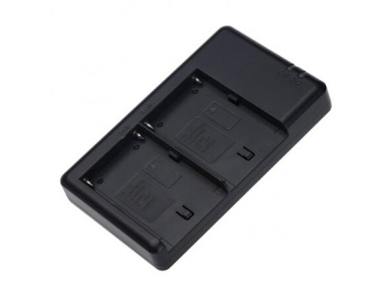 Зарядное устройство FB Dual для Sony NP-F550 / 750 / 970 (FB-DC-DU-FM50)