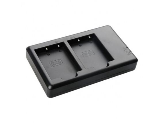 Зарядное устройство FB Dual для Fuji W126 (FB-DC-DU-W126S)