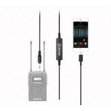 Аудио кабель Boya 35C-L (с 3.5mm на Lightning)