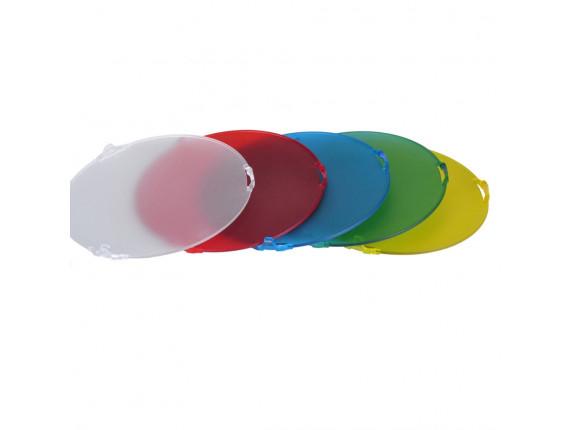 Набор цветных фильтров NiceFoto SN-518 (для рефлектора 7)