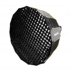 Софтбокс октобокс с сотами NiceFoto LED-120cm
