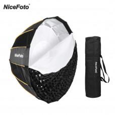 Софтбокс октобокс с сотами NiceFoto LED-90cm