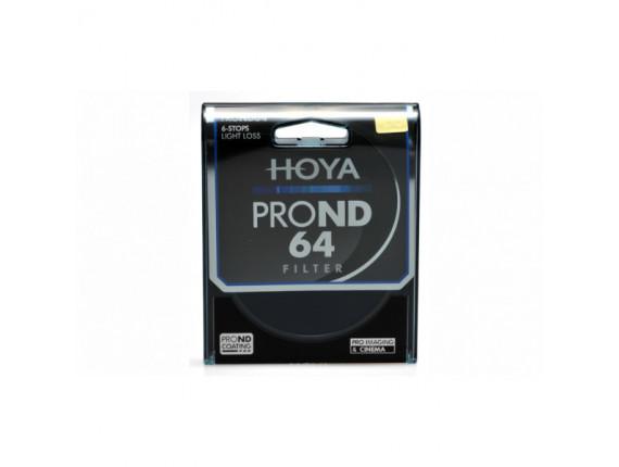 Светофильтр Hoya Pro ND 64 49mm