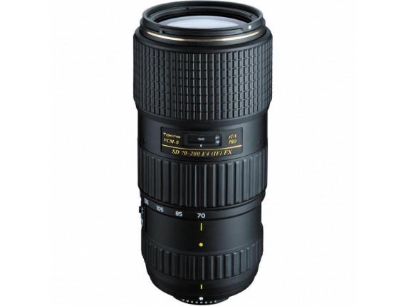 Объектив Tokina AT-X PRO SD 70-200 F4.0 (IF) FX (Nikon)