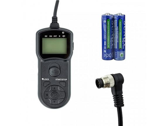 Пульт проводный с таймером JJC TM-B (NIKON D200-D700, D2-D3, Fuji S5PRO)